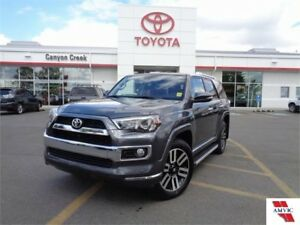 2016 Toyota 4Runner LIMITED V6 4x4 NAVIGATION