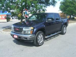 2008 GMC Canyon  SLE / CREW CAB / 4X4 OFF ROAD / 160,000 KMS