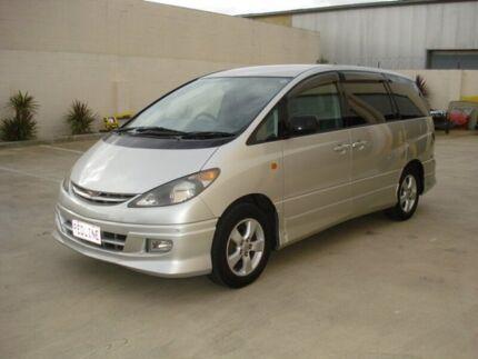 2002 Toyota Tarago ACR30R GLI Silver 4 Speed Automatic Wagon Brompton Charles Sturt Area Preview