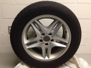 "4 x BMW X5 OEM  18"" Rims, Continental Winter Tires"