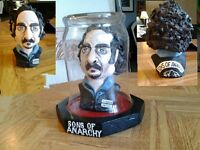 hand made clay bust of Tig from Sons of Anarchy, 5195673900.