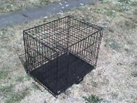 Metal Cage Collapsible with 2 doors - Heathrow