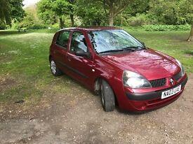 Renault Clio, 1.4, 16v, 2003, 5 door