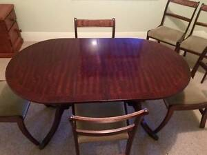 antique dining table and chairs Mount Barker Mount Barker Area Preview