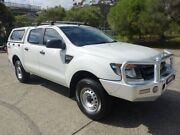 2013 Ford Ranger PX XL 3.2 (4x4) White 6 Speed Automatic Dual Cab Utility Homebush West Strathfield Area Preview