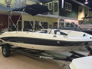 2017 Stingray 182SC 115HP W. trailer