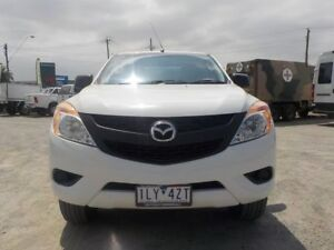 2013 Mazda BT-50 White Sports Automatic Utility