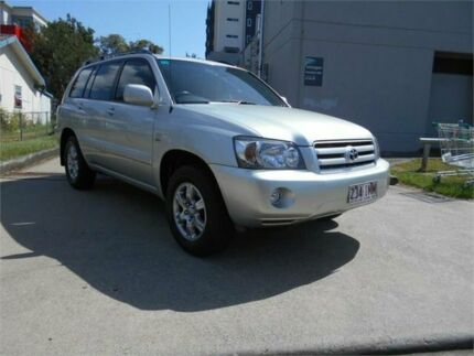 2004 Toyota Kluger MCU28R CVX AWD Silver 5 Speed Automatic Wagon Southport Gold Coast City Preview