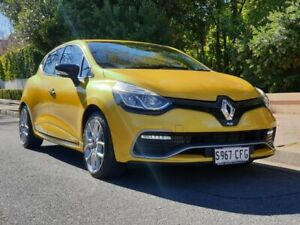 2016 Renault Clio IV B98 R.S. 200 EDC Sport Premium Yellow 6 Speed Sports Automatic Dual Clutch Prospect Prospect Area Preview