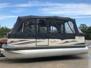 ***RARE WIDEBODY PONTOON***2007 20' SUNCHASER WITH CAMPER TOP