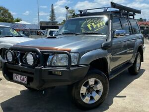 2007 Nissan Patrol GU 5 MY07 ST-S Silver 4 Speed Automatic Wagon Greenslopes Brisbane South West Preview