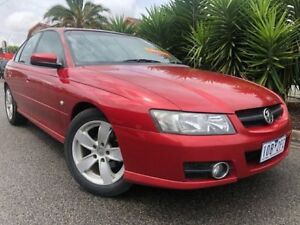 2006 Holden Commodore VZ MY06 SVZ Red 4 Speed Automatic Sedan Hoppers Crossing Wyndham Area Preview