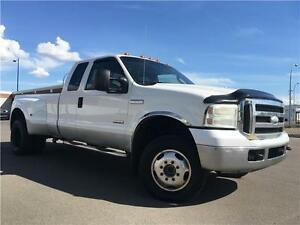2005 Ford F-350 XLT DUALLY DIESEL = 4X4 = LONG BOX EXTENDED CAB
