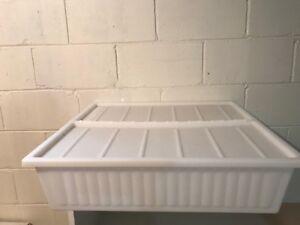 Underbed storage box, white