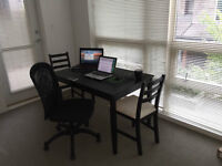 sublet one bedroom of a two bedroom suit in UBC for summer.