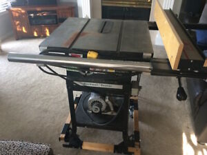 Vintage Rockwell Beaver 10in table saw