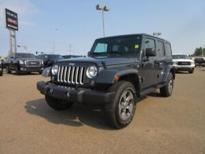 2017 Jeep Wrangler Unlimited Sahara. Text 780-205-4934 for more