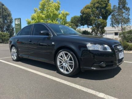 2008 Audi A4 B7 MY06 Upgrade 2.0 TFSI Quattro 6 Speed Manual Sedan Fawkner Moreland Area Preview