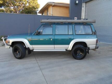 1997 Nissan Patrol GQ II ST Green 4 Speed Automatic Wagon Beverley Charles Sturt Area Preview