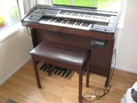 Superb Yamaha Electrone HC-4W Piano Organ.