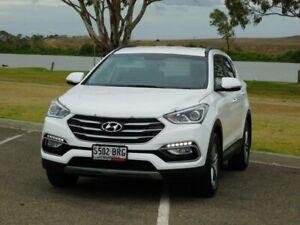 2017 Hyundai Santa Fe DM4 MY18 Active White 6 Speed Sports Automatic Wagon Murray Bridge Murray Bridge Area Preview