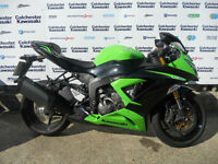 "Kawasaki ZX636 ""64 Plate"" Good Condition"