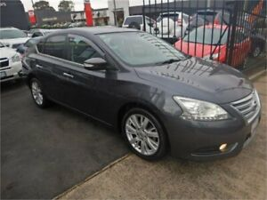 2013 Nissan Pulsar B17 TI Grey Continuous Variable Sedan Burwood Whitehorse Area Preview