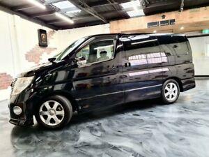 2009 Nissan Elgrand E51 Highway Star Black 5 Speed Automatic Wagon Perth Perth City Area Preview