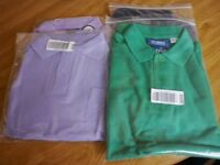 CHILDREN'S POLO TOPS X 4 DIFFERENT SIZES