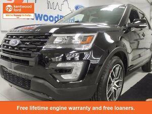 2017 Ford Explorer SPORT , FULL LOAD , BLACK ON BLACK!!