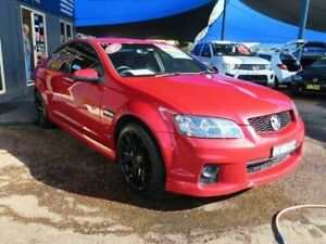2011 Holden Commodore VE II SV6 Red 6 Speed Sports Automatic Sedan Minchinbury Blacktown Area Preview