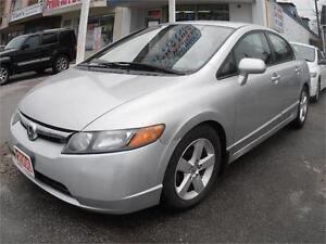 2006 Honda Civic LX Sedan Auto Silver 239,000km