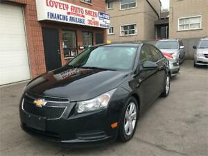 2014 Chevrolet Cruze Diesel ,LEATHER HEATED SEATS, BACK UP CAMER