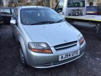 2004 Daewoo Kalos 1.2, starts and drives well, MOT until April 2017, 74,000 miles, car located in Gr