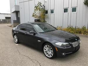 2011 BMW 550XI NAVIGATION CAMERA 125KM GRAY ON BLACK