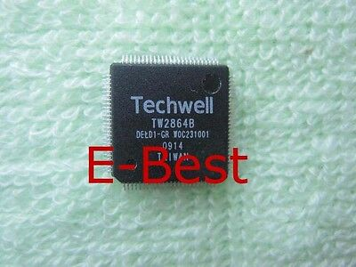 1 Piece New Techwell Tw2864b Qfp Ic Chip