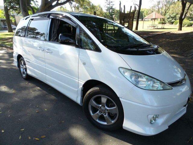 2005 Toyota Estima G Edition Aeras Premium White Wagon