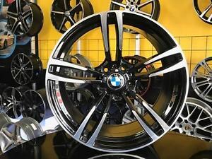 GRANDE LIQUIDATION / SALE  MAGS BMW 19'' NEUFS STAGGERED RÉPLIQUE BMW M4 NOIR ET MACHINÉ SEULEMENT 799$
