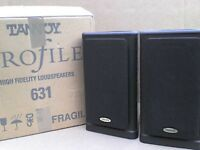 70W Tannoy Stereo Speakers bi-wired with Original Box - Heathrow