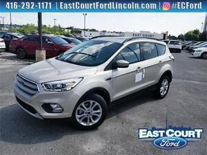 2018 Ford Escape SEL, $76/wk, pano roof, voice NAV, sparkle whee