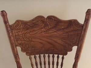 Unique Country style dining room chairs