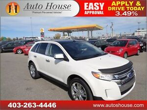 2011 Ford Edge Limited NAVIGATION B CAM 2 DVD PANO ROOF