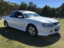 2004 Holden Crewman VZ S White 4 Speed Automatic Clontarf Redcliffe Area Preview