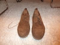 NEW SUEDE HIGH END LOAKE LIFESTYLE FORMAL SHOES - LIGHT BROWN
