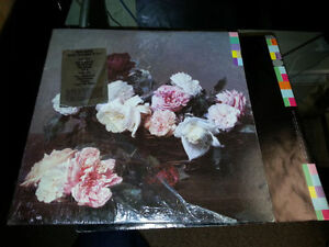 NEW ORDER 1983 lp power corruption and lies
