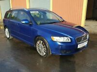 VOLVO V50 1.6D SE LUX EDITION, DIESEL, ESTATE, MANUAL, FULLY LOADED, NON RUNNER, SPARES OR REPAIR