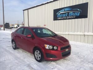 2012 Chevrolet Sonic LT, 3 Mth Warranty included! 780-920-0179