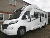 2016 BESSACARR 496 SIX BERTH, SIX SEAT BELT, REAR LOUNGE MOTORHOME FOR SALE