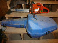 Husqvarna 353 ETECH Chain Saw with Carry Case