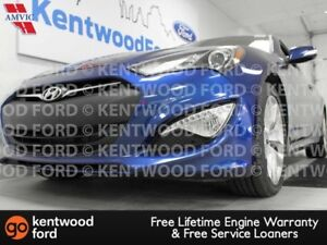 2016 Hyundai Genesis Coupe 3.8 Gen coupe with a sunroof, heated
